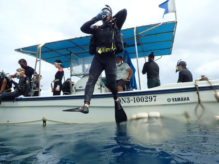 沖繩潛水 PADI課程 青之洞窟