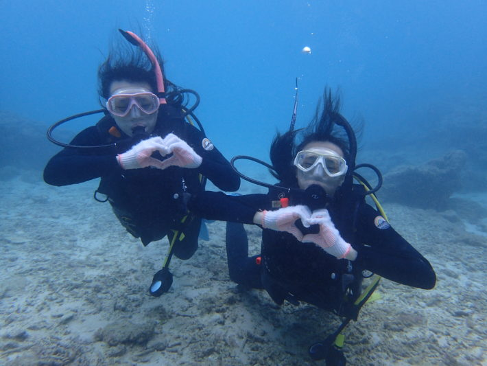 潛水證照 AOW 浮潛