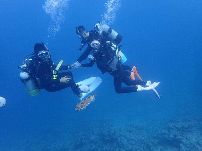 沖繩 青之洞 浮潛 潛水