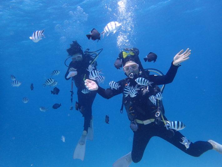 沖繩 休閒潛水 潛水旅遊 中性浮力