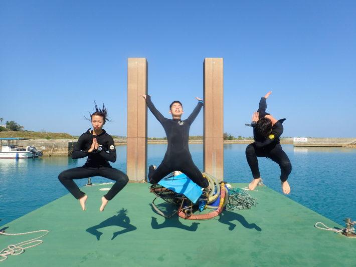 沖繩潛水OWD